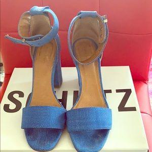 Kick up Your Blue Suede Sandals